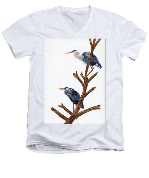 Rookery Men's V-Neck T-Shirt