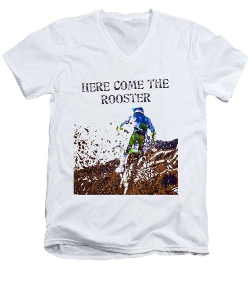 Roosted Men's V-Neck T-Shirt