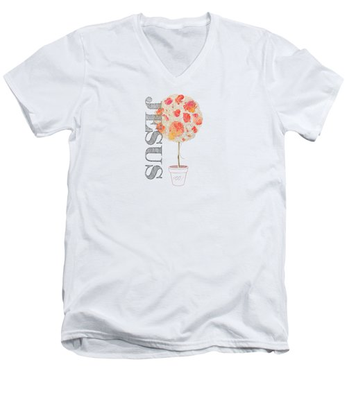 Rooted And Firmly Grounded In Love Men's V-Neck T-Shirt