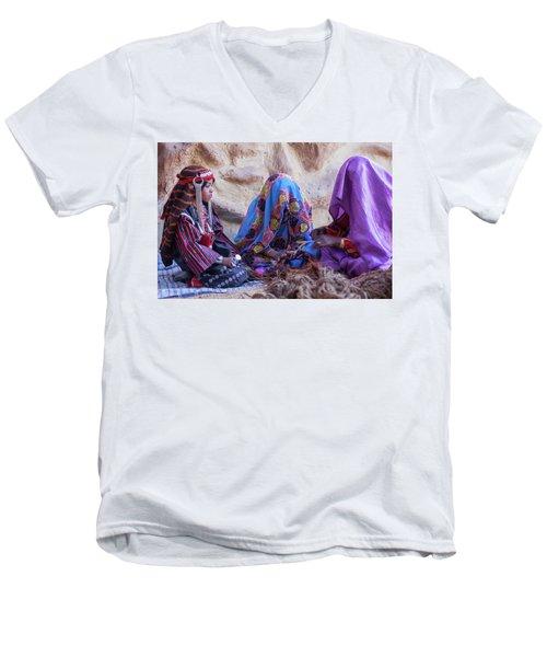 Rope Makers Men's V-Neck T-Shirt