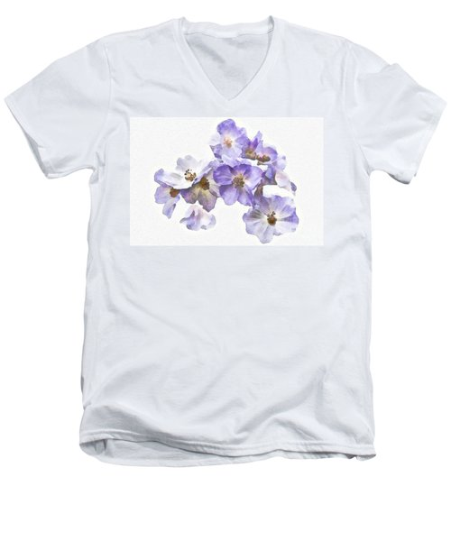 Rosa Canina - Watercolour Men's V-Neck T-Shirt