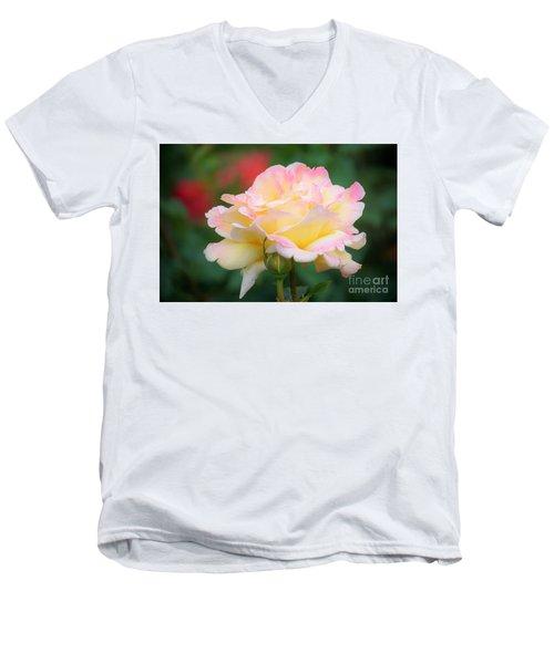 Rose Beauty Men's V-Neck T-Shirt