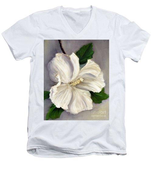 Rose Of Sharon Diana Men's V-Neck T-Shirt by Randy Burns