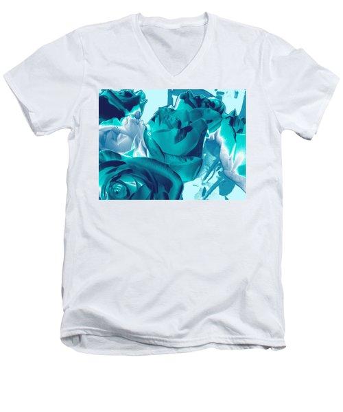 Roses #4 Men's V-Neck T-Shirt