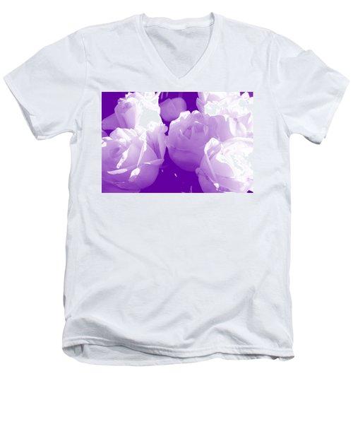 Roses #7 Men's V-Neck T-Shirt