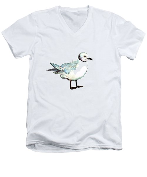 Ross's Gull Men's V-Neck T-Shirt