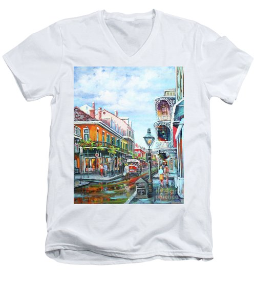 Royal Balconies Men's V-Neck T-Shirt