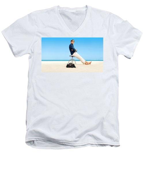 Royal Pains Men's V-Neck T-Shirt