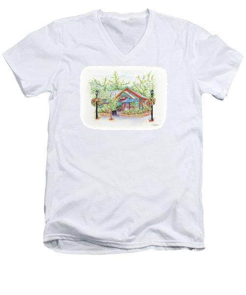 Ruby's Men's V-Neck T-Shirt