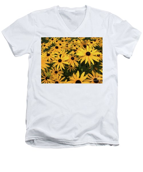 Rudbeckia Fulgida Goldsturm Men's V-Neck T-Shirt