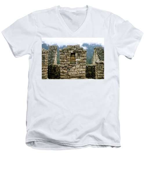Ruins In A Lost City Men's V-Neck T-Shirt