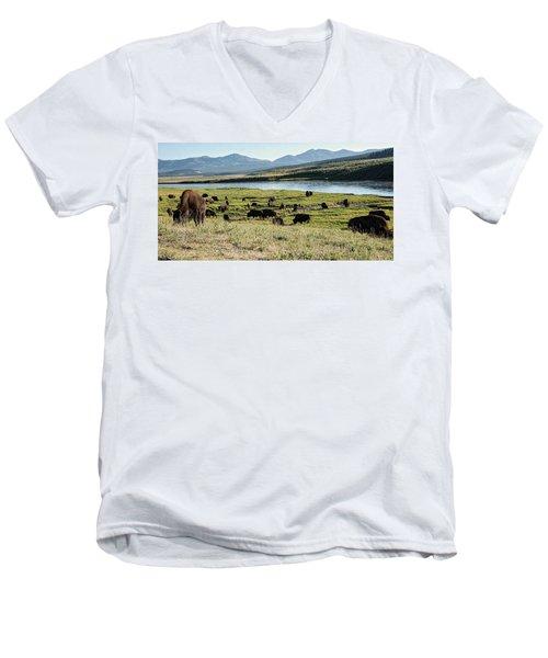 Rumble Men's V-Neck T-Shirt