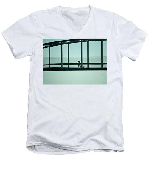 Running On Air Men's V-Neck T-Shirt