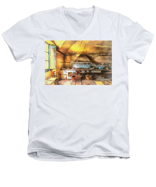 Rural Culinary Atmosphere Nr 2 - Atmosfera Culinaria Rurale IIi Paint Men's V-Neck T-Shirt