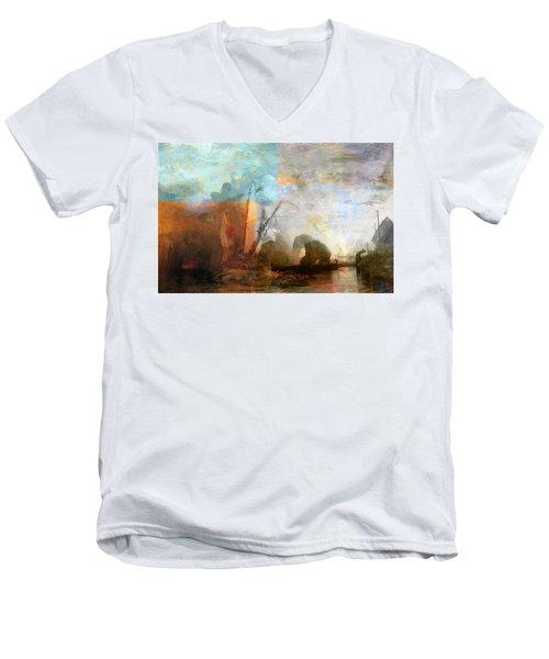 Rustic I Turner Men's V-Neck T-Shirt