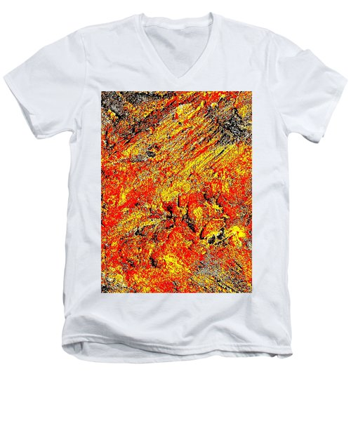 Rusty Euphoria Men's V-Neck T-Shirt