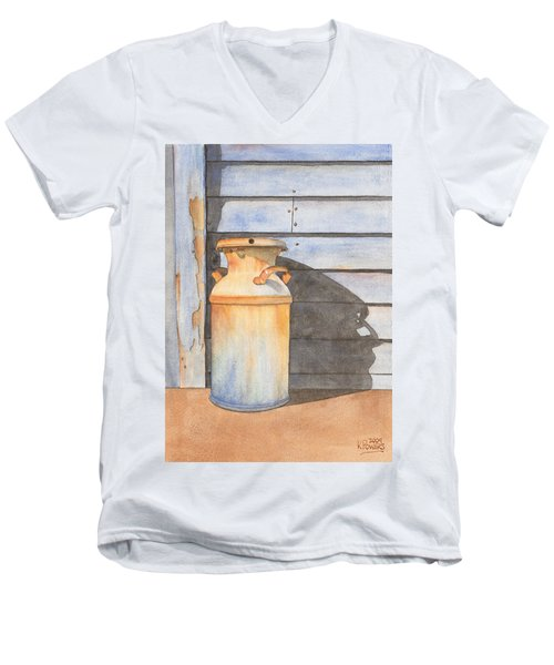 Rusty Milk Men's V-Neck T-Shirt