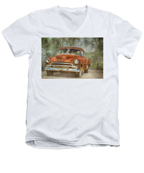 Rusty Men's V-Neck T-Shirt