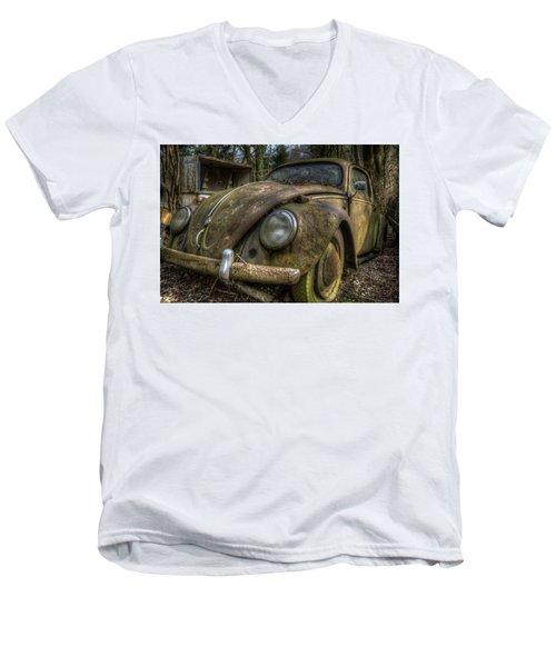 Rusty Vee Dub  Men's V-Neck T-Shirt