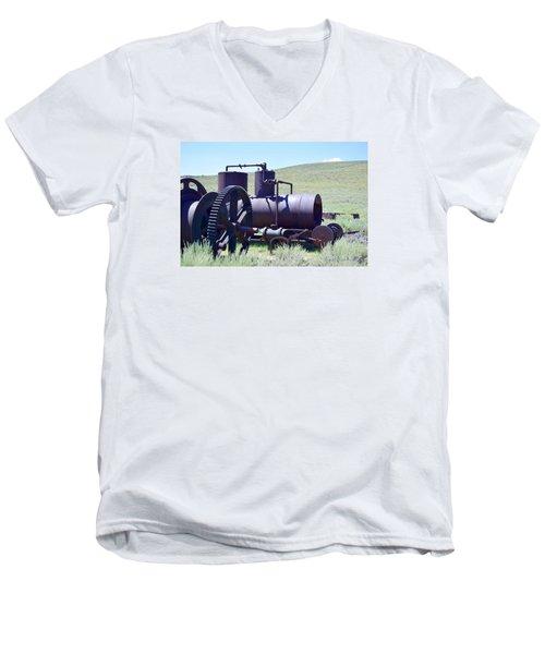 Rusty Wench Men's V-Neck T-Shirt