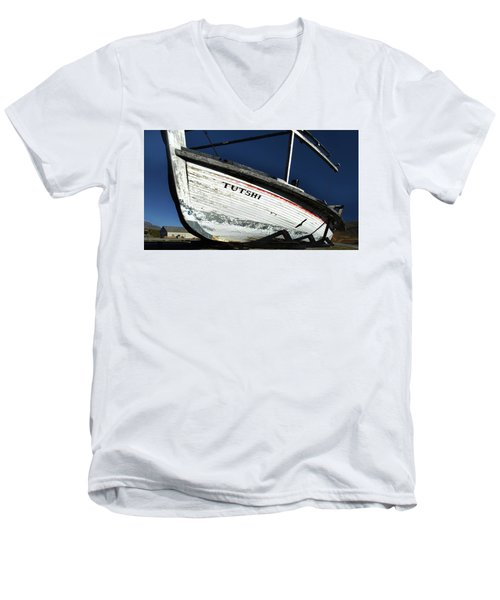 S. S. Tutshi Men's V-Neck T-Shirt