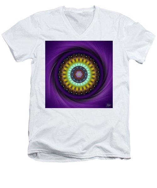 Sacred Geometry 710 Men's V-Neck T-Shirt
