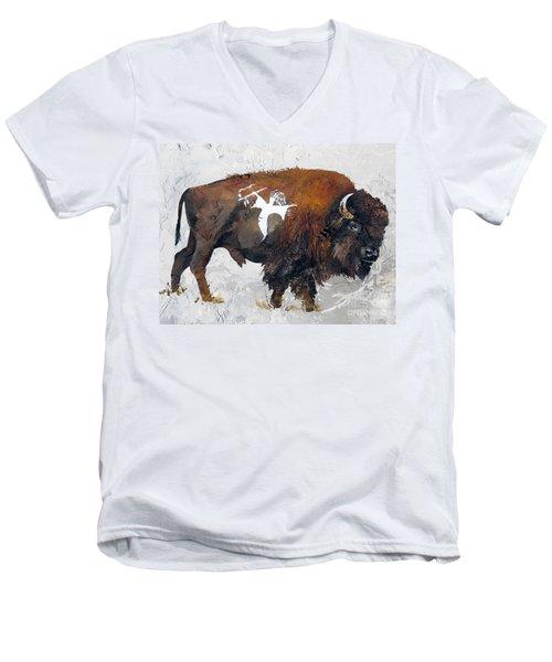 Sacred Gift Men's V-Neck T-Shirt