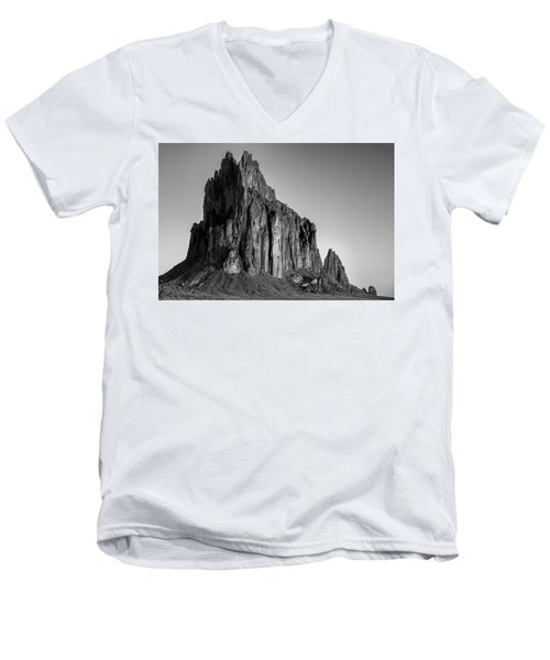 Sacred Glow II Men's V-Neck T-Shirt by Jon Glaser
