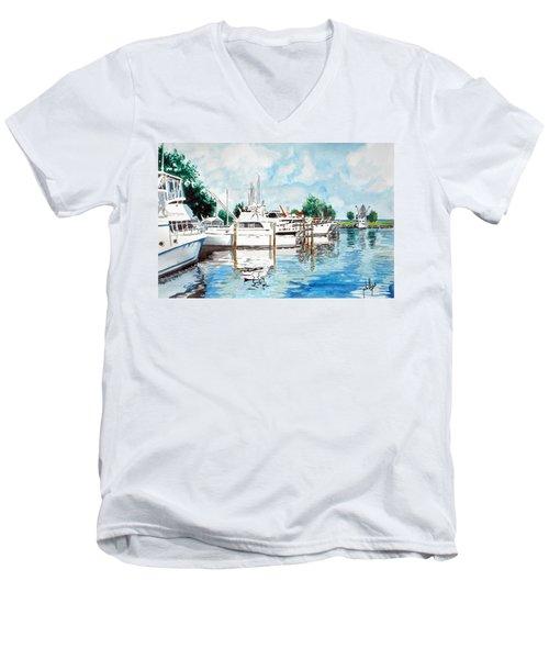 Safe Harbor Men's V-Neck T-Shirt