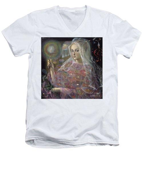 Sagittarius Men's V-Neck T-Shirt by Annael Anelia Pavlova
