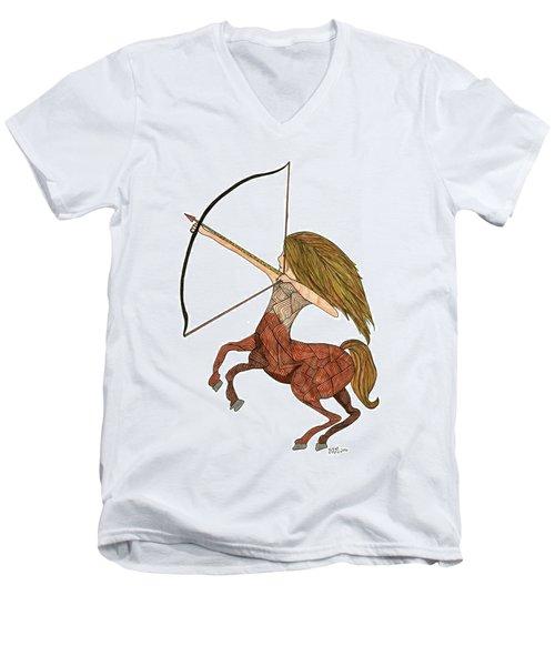 Sagittarius Men's V-Neck T-Shirt