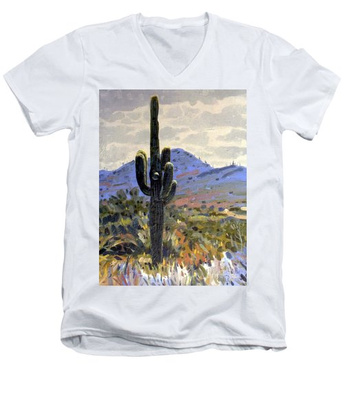Saguaro Men's V-Neck T-Shirt