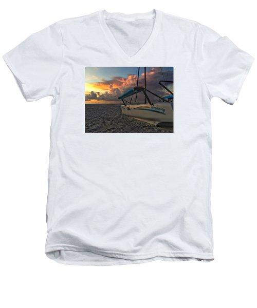 Sailing Still Men's V-Neck T-Shirt