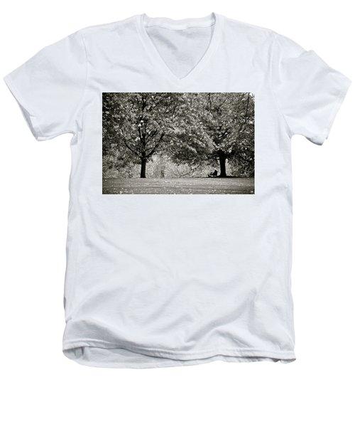 Saint James Repose Men's V-Neck T-Shirt