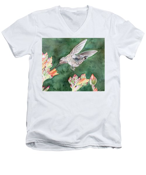 Saki's Visit Men's V-Neck T-Shirt