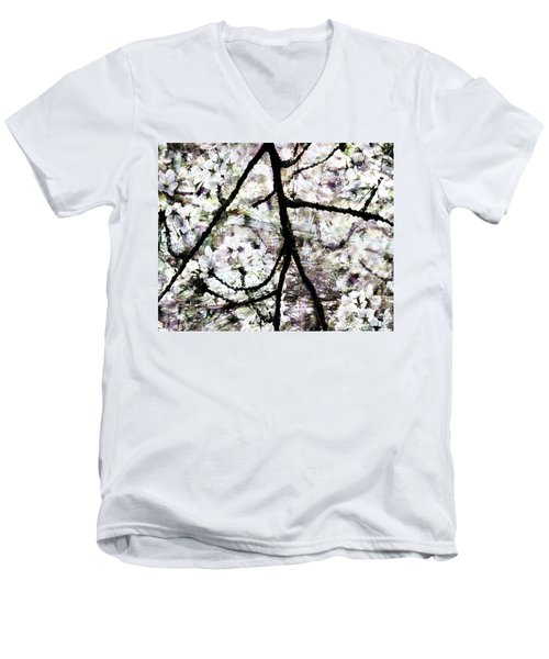 Sakura Men's V-Neck T-Shirt