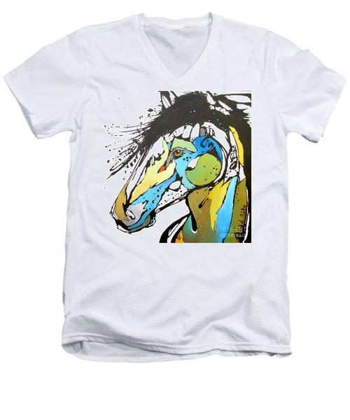 Sallie Men's V-Neck T-Shirt