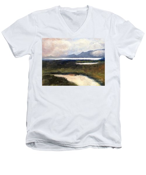 Salton Sea Men's V-Neck T-Shirt