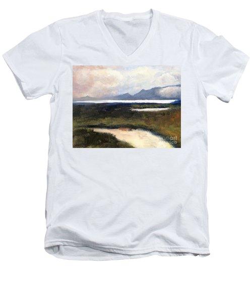 Salton Sea Men's V-Neck T-Shirt