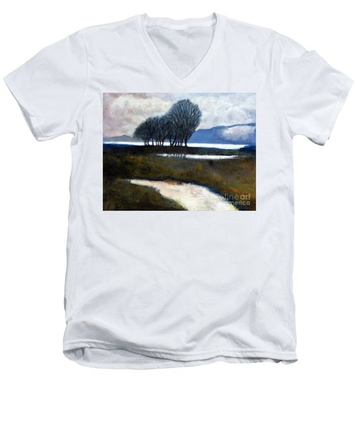 Salton Sea Trees Men's V-Neck T-Shirt