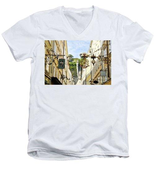 Salzburg Shopping Men's V-Neck T-Shirt
