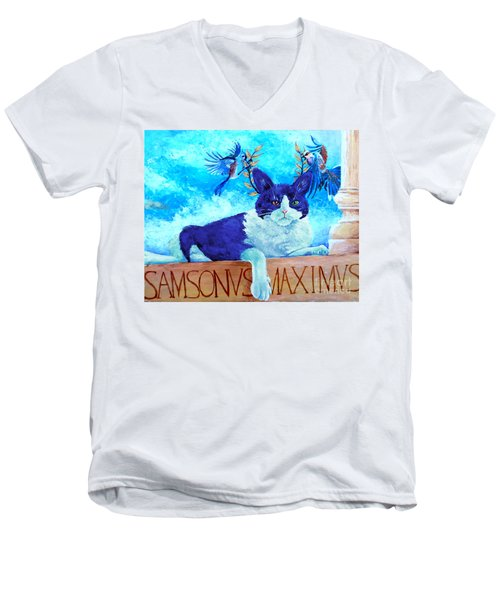 Sammy The Great And The Winged Victories Men's V-Neck T-Shirt