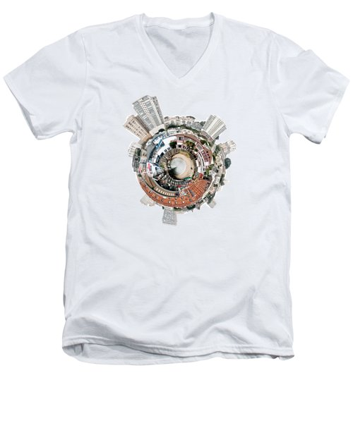 San Fran Men's V-Neck T-Shirt