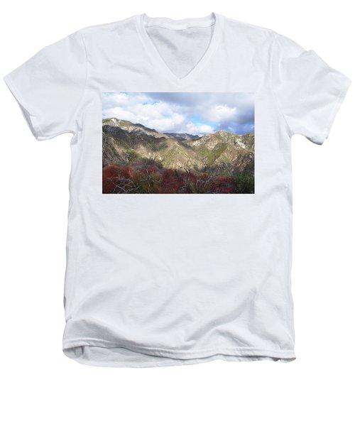 San Gabriel Mountains National Monument Men's V-Neck T-Shirt