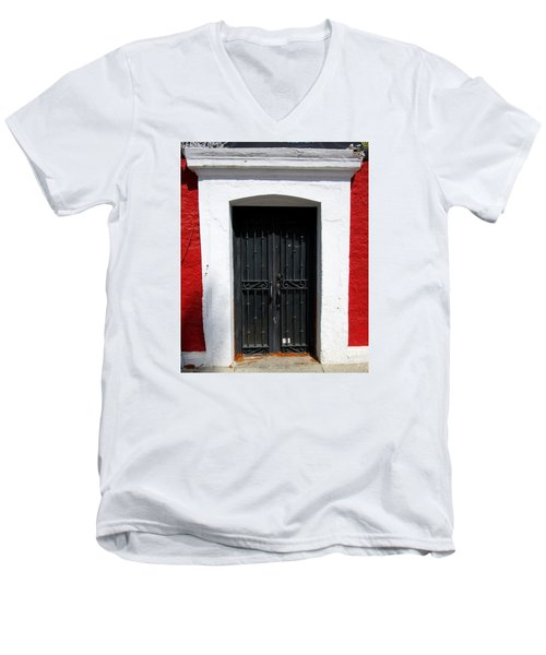 San Jose Del Cabo Door 8 Men's V-Neck T-Shirt