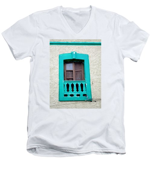 San Jose Del Cabo Window 12 Men's V-Neck T-Shirt