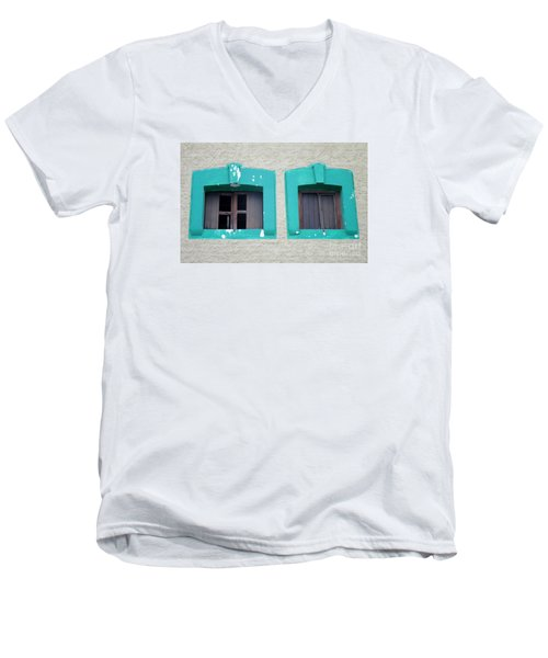 San Jose Del Cabo Windows 13 Men's V-Neck T-Shirt