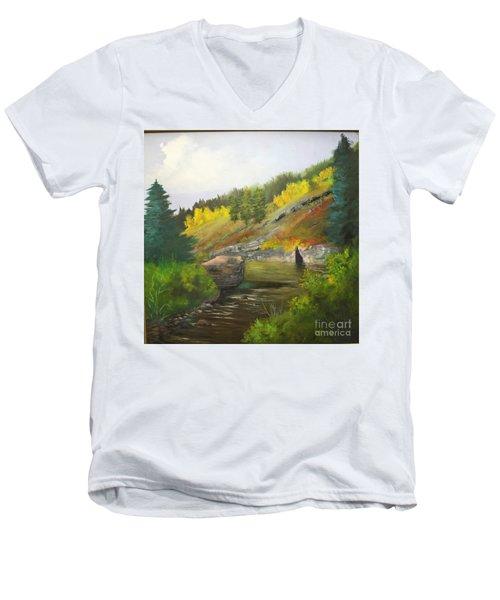 San Juan River Men's V-Neck T-Shirt