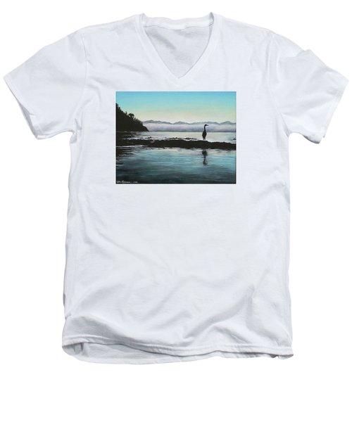 San Juan Sentinel Men's V-Neck T-Shirt by Kim Lockman