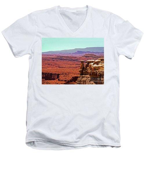 San Rafeal Swell Men's V-Neck T-Shirt